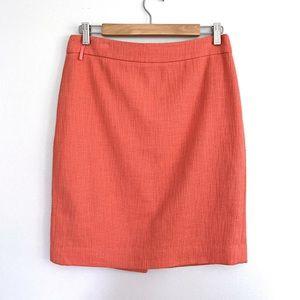 J. Crew | Vintage J. Crew Coral Pencil Skirt